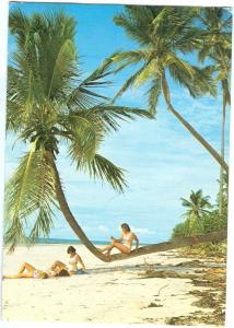 Kenya, East African Coast, 1980s used Postcard