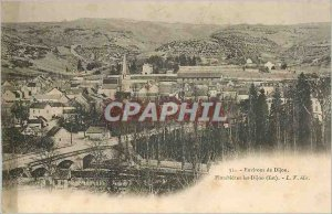 Old Postcard Envi. From DIJON.Plombieres Dijon