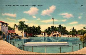 Florida Miami Coral Gables The Venetian Pool 1939