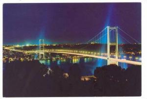 The Bosphorus Bridge, Istanbul, Turkey, 50-70s