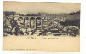 Viaduct De La Petrusse, Luxembourg, 1900-1910s