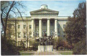 North Carolina State Capital Building, Raleigh, NC, pre-zip code Chrome