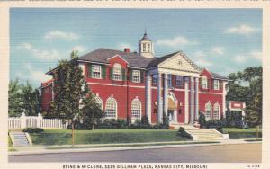 KANSAS CITY, Missouri, 30s-40s; Stine & McClure Undertaking Co.