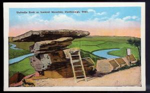 Umbrella Rock Lookout Mtn Chattanooga TN unused 1920's