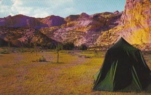 Camp Grounds Dinosaur National Monument Utah-Colorado