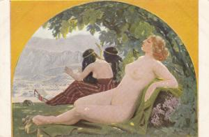 Jugend Art-PC , Munchen , Germany , 00-10s ; Reclining Nude
