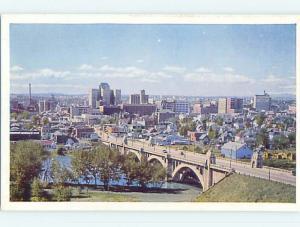 Unused Pre-1980 TOWN VIEW SCENE Calgary Alberta AB p8595