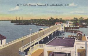 Bridge Crossing Pasquotank River, Elizabeth City, North Carolina, 30-40´s