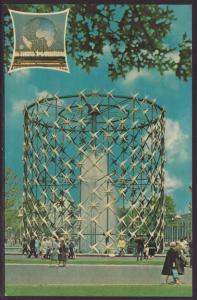 Astral Fountain,New York World's Fair Postcard BIN