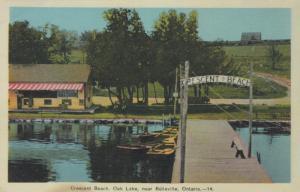 BELLEVILLE, Ontario , 1930s ; Crescent Beach