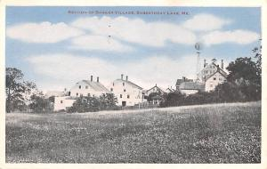 Shaker Postcards Old Vintage Antique Post Cards Village Unused