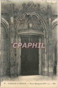 Old Postcard Cathedral of Meaux door Maugarni