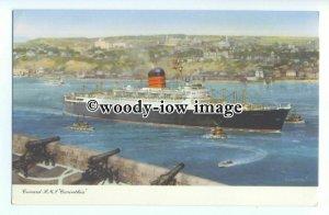LS1019 - Cunard Liner - Carinthia , artist C E Turner - postcard
