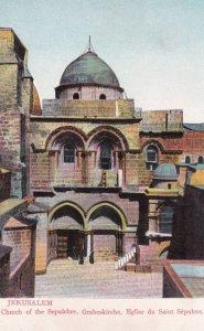 Jerusalem, 00-10 ; Church Of The Sepulchre,Grabeskirche, Eglise Du Saint Sepu...