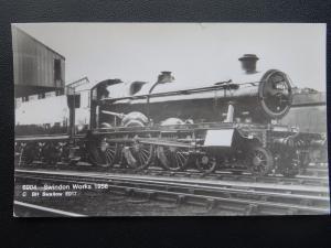 Swindon Works C BH Swallow E017 Steam Locomotive 6904 c1956 RP Postcard