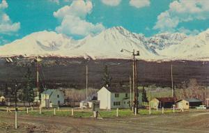 HAINES JUNCTON, St. Elias Mts, Y.T., Canada, 40-60s ; Alaska Highway Mile 1016