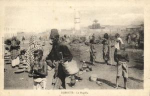 CPA Djibouti Afrique - La Magalla (86924)