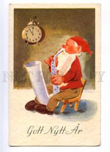 187679 NEW YEAR saxophone GNOME Dwarf Vintage Colorful PC