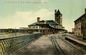 CT - Bridgeport. New York, New Haven & Hartford Railroad Station, Depot
