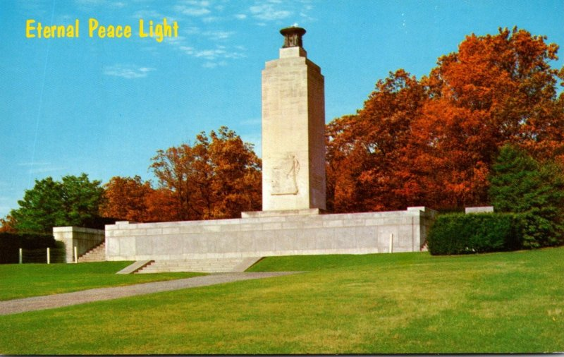 Pennsylvania Gettysburg Eternal Light Peace Memorial