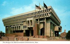 Massachusetts Boston City Hall Government Center 1976