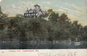 CUMBERLAND , Maryland , 1909 ; Potomac Club