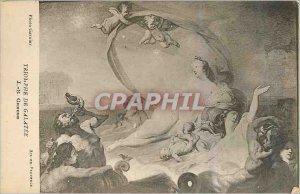 Postcard Modern Art Collection Gabonese mask Bapounou Particuliere