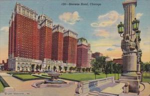the Stevens Hotel Chicago Illinois