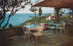 St Thomas Dining Terrace Water Isle Hotel & Beach Club 1960