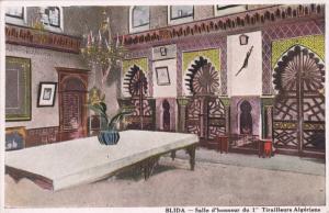 BLIDA, Algeria, 1900-1910's; Salle D'Honneur Du 1 Tirailleurs Algeriens