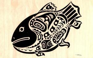 Canada - British Columbia, Queen Charlotte Island. Pacific Northwest Indian M...