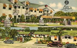 SC - Walterboro. Lady Lafayette Hotel & Tourist Cottages