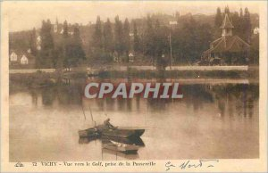 Postcard Old Vichy Golf View to the management of Fishing Bridge