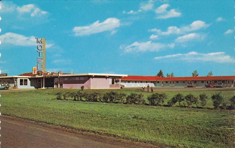 REGINA, Saskatchewan, Canada, 1940-1960's; Wheatland Motel And Restaurant
