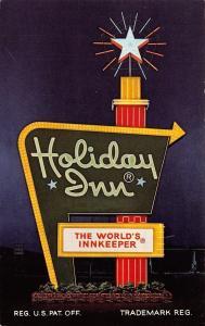 Cleveland Ohio~Holiday Inn~1960 Postcard