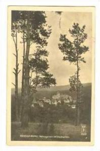 REICHENBERG. Volksgarten-Wirtschaften, Czech Republic, PU,1922