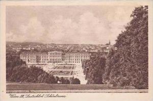 Austria Vienna Wien Lustschloss Schoenbrun