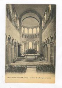Interieur De La Basilique, Saint-Benoit-sur-Loire (Loiret), France, 1900-1910s