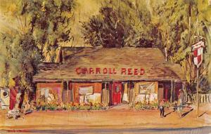 North Conway New Hampshire Carroll Reed Ski Shops Vintage Postcard JA7471891