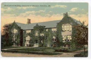 Horticultural Building, University Of Missouri, Columbia, Missouri, PU-1911