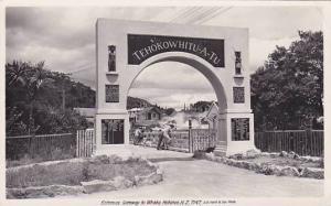 RP, Entrance Gateway To Whaka, Tehokowhitu-A-Tu, Rotorua, New Zealand, 1920-1...