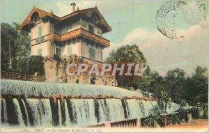 Postcard Old Nice La Cascade Gairaut