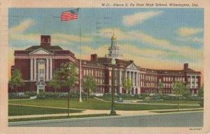 Postcard Pierre S Du Pont High School Wilmington Delaware