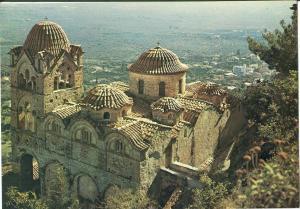 Greece, Mystras, Monastery of Pantanassa, unused Postcard
