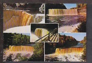 Upper Tahquamenon Falls Michigan Postcard BIN
