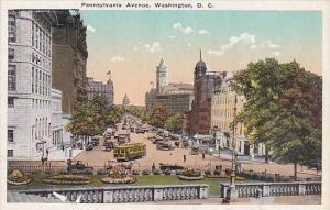 Washington DC Pennsyivania Avenue