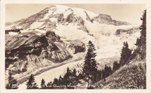 RP: Glacier , Rainier National Park , Washington , 1930-40s