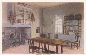 Virginia Mount Vernon Family Kitchen