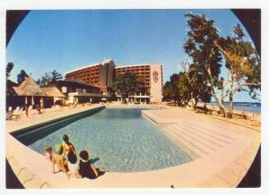 New Caledonia / NOUMEA, Royal Castle Hotel swimming pool, 50-60s