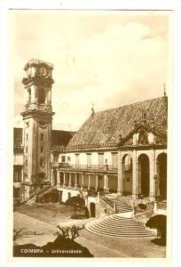 RP; Bird's Eye View, Universidade, Coimbre, Portugal, 20-40s